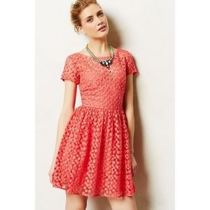 Artelier by NM Stitched Blossom Lace Midi Dress